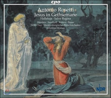 Johannes Moesus 안토니오 로제티: 게세마니의 예수 (Antonio Rosetti: Jesus In Gethsemane)