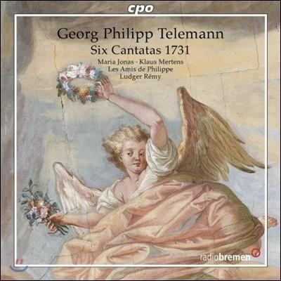 Ludger Remy / Maria Jonas 텔레만: 6개의 칸타타 1731 (Telemann: Six Cantatas 1731)