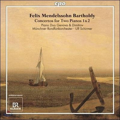 Piano Duo Genova & Dimitrov 멘델스존: 두 대의 피아노를 위한 협주곡 1번, 2번 (Mendelssohn: Concertos For Two Pianos)