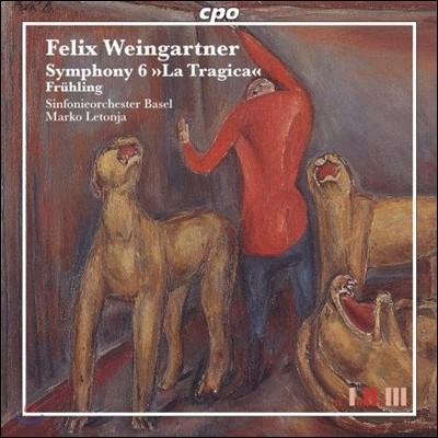 Marko Letonja 펠릭스 바인가르트너: 교향곡 6번 '비극적', 교향시 '봄' (Felix Weingartner: Symphony No.6 'La Tragica', Fruhling)