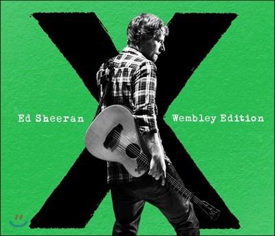 Ed Sheeran - X (Wembley Edition) (에드 시런 2집 확장판 CD + 웸블리 스타디움 라이브 DVD)