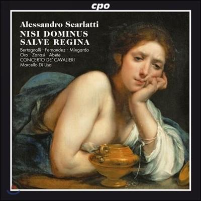 Marcello Di Lisa 알레산드로 스카를라티: 종교 음악 작품집 (Alessandro Scarlatti: Sacred Works)