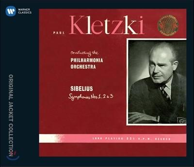Paul Kletzki 시벨리우스: 교향곡 1번, 2번, 3번 (Sibelius: Symphonies No.1, No.2, No.3)