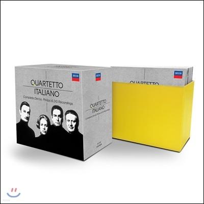 Quartetto Italiano 이탈리아 사중주단 - 데카, 필립스, DG 전집 (Complete Decca, Philips & DG Recordings)