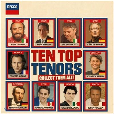 10 탑 테너 (Ten Top Tenors - Collect Them All!)
