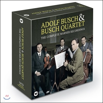 Busch Quartett / Adolf Busch 부슈 사중주단 EMI 녹음 전집 (The Complete EMI Recordings)