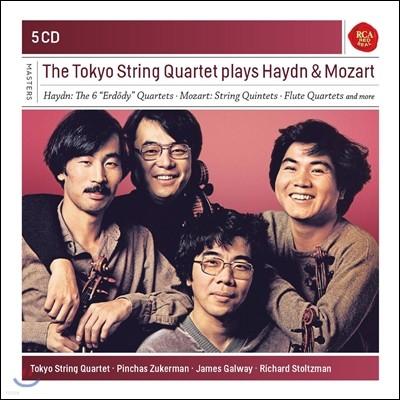 Tokyo String Quartet 도쿄 현악 사중주단이 연주하는 하이든 / 모차르트 (Plays Haydn / Mozart)
