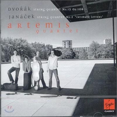 Artemis Quartet 드보르작 / 야나체크: 현악 사중주곡 (Dvorak / Janacek: String Quartets) 아르테미스 사중주단