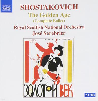 Shostakovich : Golden Age Op.22 Complete Ballet