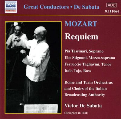 모차르트 : 레퀴엠 (1941년 녹음) - 빅토르 데 사바타