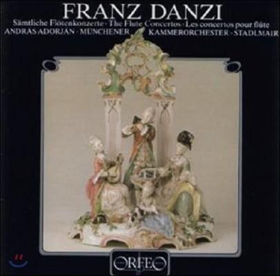Andras Adorjan 단치: 4개의 플루트 협주곡 (Danzi: 4 Flute Concertos)