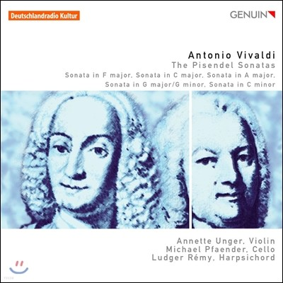 Annette Unger 비발디: 피젠델 소나타 (Vivaldi: The Pisendel Sonatas)