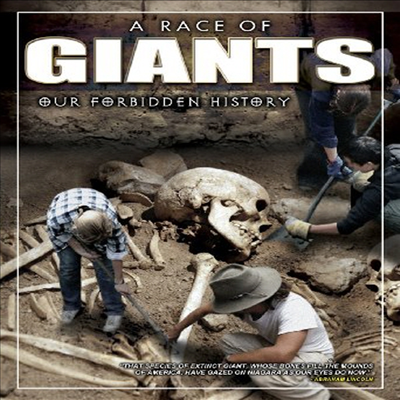 A Race Of Giants: Our Forbidden History (어 레이스 오브 자이언츠: 아우어 포비든 히스토리)(지역코드1)(한글무자막)(DVD)