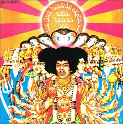 Jimi Hendrix Experience - Axis: Bold As Love [LP]