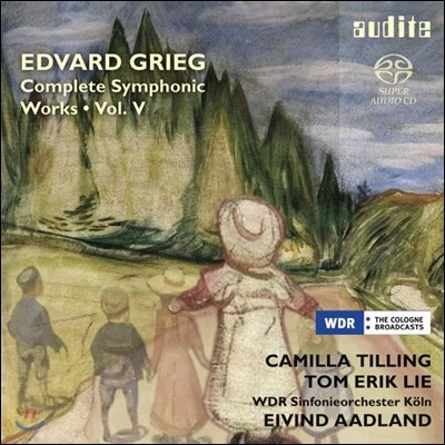 Eivind Aadland 그리그: 관현악 작품 5집 (Grieg: Complete Symphonic Works Volume 5)