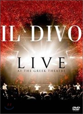 IL Divo - Live At The Greek Theatre 일 디보 DVD