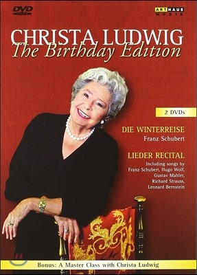 Christa Ludwig 크리스타 루드비히 생일 기념 에디션 - 슈베르트: 겨울 나그네 (The Birthday Edition - Schubert: Die Winterreise And Lieder Rectical)