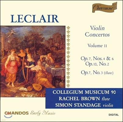Collegium Musicum 90 장 마리 르클레르: 바이올린 협주곡 2집 (Jean Marie Leclair: Violin Concertos II)