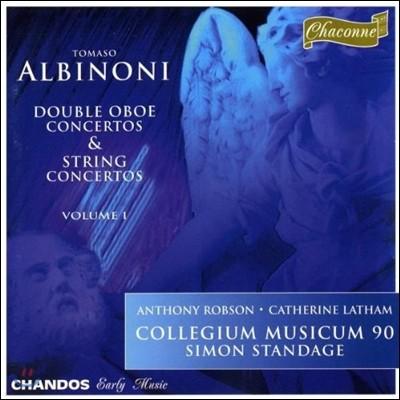 Collegium Musicum 90 알비노니: 협주곡집 1권 - 두 대의 오보에를 위한 협주곡 (Albinoni: Double Oboe Concertos & String Concertos I)