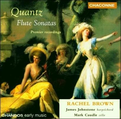 Rachel Brown 요한 크반츠: 플루트 소나타 (Johann Quantz: Flute Sonatas)