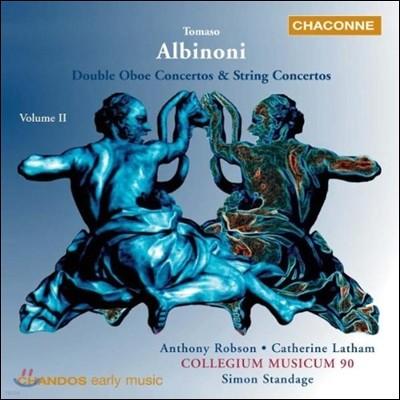 Collegium Musicum 90 알비노니: 협주곡집 2권 - 두 대의 오보에를 위한 협주곡 (Albinoni: Double Oboe Concertos & String Concertos II)