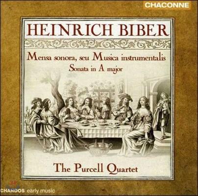 Purcell Quartet 비버: 멘사 소노라, 바이올린 소나타 A장조 (Heinrich Biber: Mensa Sonora, Sonata in A Major)