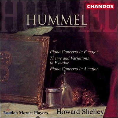 Howard Shelley 훔멜: 피아노 협주곡, 변주곡 (Hummel: Piano Concertos, Theme and Variations)