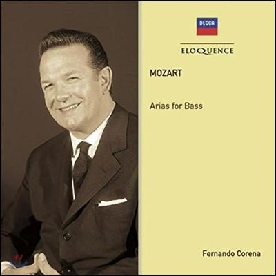 Fernando Corena 페르난도 코레나 - 모차르트: 베이스를 위한 아리아 (Mozart: Arias For Bass)