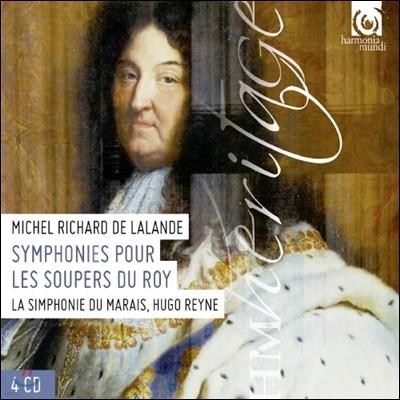 Hugo Reyne 미셀 드라랑드: 왕의 만찬을 위한 교향곡 (Michel Delalande: Symphonies pour les Soupers du Roy)