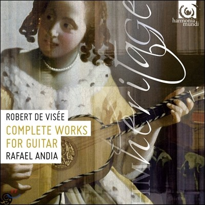 Rafael Andia 로베르 드 비제: 기타 작품 전곡 - 기타 모음곡 1-12번 (Robert de Visee: Complete Works for Guitar)