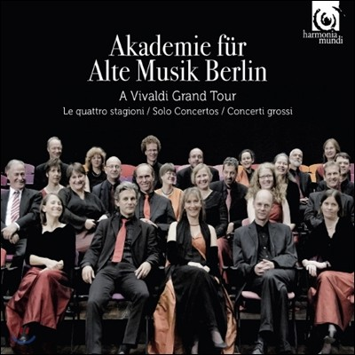 Akademie fur Alte Musik Berlin 베를린 고음악 아카데미가 연주하는 비발디 (A Vivaldi Grand Tour)