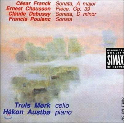 Truls Mork 프랑크 / 쇼송 / 드뷔시 / 풀랑: 첼로 소나타 (Franck / Chausson / Debussy / Poulenc: French Cello Sonatas)