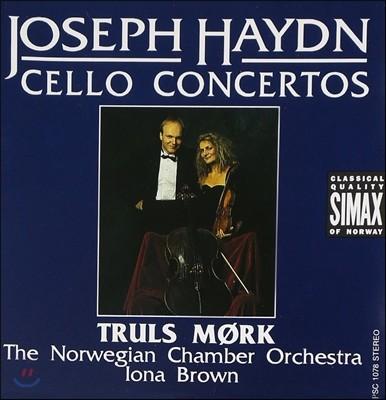 Truls Mork / Iona Brown 하이든: 첼로 협주곡 1번, 2번 (Haydn: Cello Concertos)
