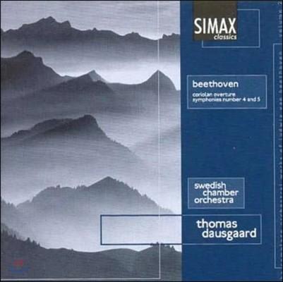Thomas Dausgaard 베토벤: 교향곡 4번, 5번 '운명', 코리올란 서곡 (Beethoven: Symphonies Op.60, Op.67, Coriolan Overture Op.62)