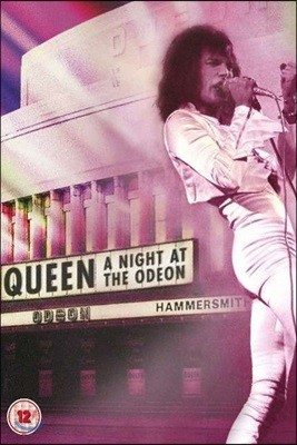 Queen - A Night At The Odeon Hammersmith 1975 해머스미스 공연 라이브 [DVD]