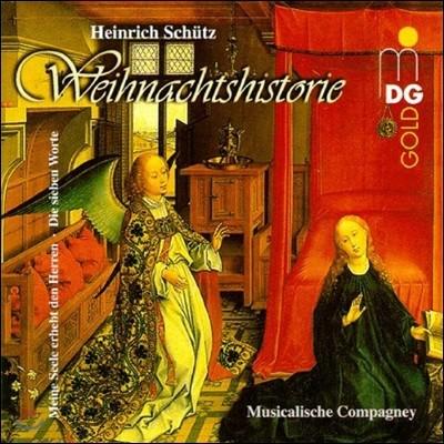 Musicalische Compagney 하인리히 쉬츠: 크리스마스 이야기 (Heinrich Schutz: Weihnachtshistorie)