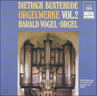 Harald Vogel 북스테후데: 오르간 작품 2집 (Buxtehude: Organ Works Vol.2)