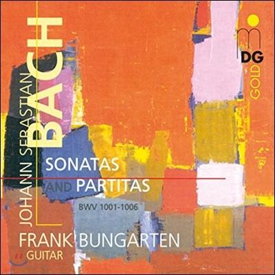 Frank Bungarten 바흐: 기타로 연주하는 소나타와 파르티타 BWV1001-1006 (Bach: Sonatas and Partitas for Guitar)