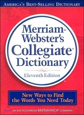 [염가한정판매] Merriam-Webster's Collegiate Dictionary