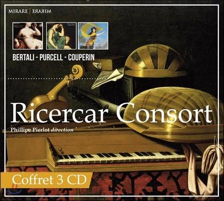 Ricercar Consort 리체르카 콘소트 - 베르탈리 / 퍼셀 / 쿠프랭 (Bertali / Purcell / Couperin)