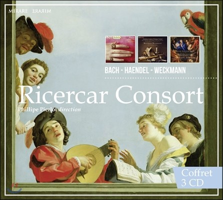 Ricercar Consort 리체르카 콘소트 - 바흐 / 헨델 / 베크만 (Bach / Handel / Weckmann)