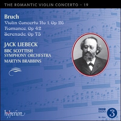 낭만주의 바이올린 협주곡 19집 - 막스 브루흐 (The Romantic Violin Concerto 19 - Max Bruch) Jack Liebeck