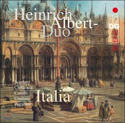 Heinrich-Albert-Duo 기타 이중주로 연주하는 이탈리아 명곡들 (Italia - Guitar Duo)
