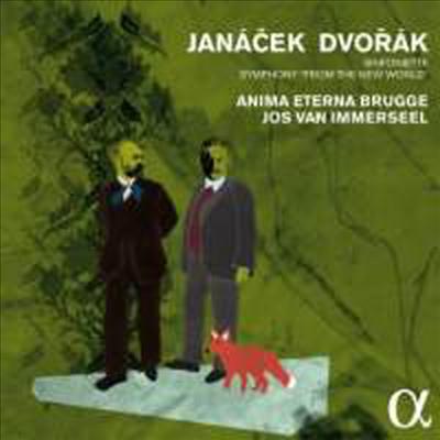 드보르작: 교향곡 9번 '신세계로 부터' & 야나첵: 신포니에타 (Dvorak: Symphony No.9 'From The New World' & Janacek: Sinfonietta) - Jos van Immerseel