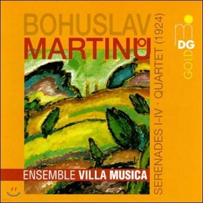 Ensemble Villa Musica 마르티누: 세레나데 1-4번, 사중주 (Martinu: Serenades, Quartet)