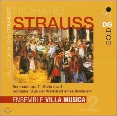 Ensemble Villa Musica 슈트라우스: 관악기를 위한 음악 (R. Strauss: Music for Wind Instruments)