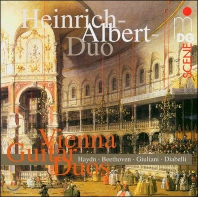 Heinrich-Albert-Duo 비엔나의 기타 이중주 - 하이든 / 베토벤 / 디아벨리 (Vienna Guitar Duos - Haydn / Beethoven /Diabelli)