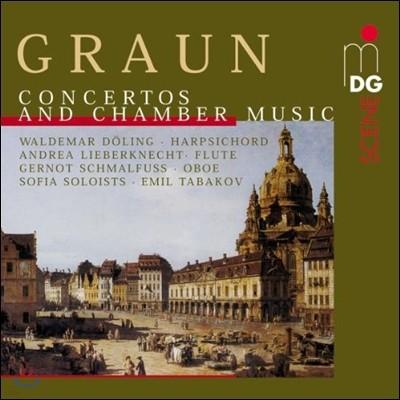 Emil Tabakov 그라운 형제: 협주곡과 실내악 작품집 (C.H. / J.G. Graun: Concertos & Chamber Music)