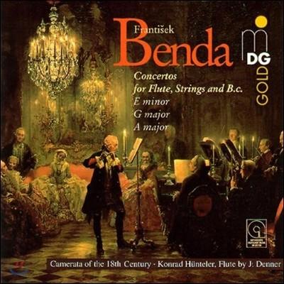 Konrad Hunteler 프란츠 벤다: 플루트 협주곡 (Franz Benda: Flute Concertos)