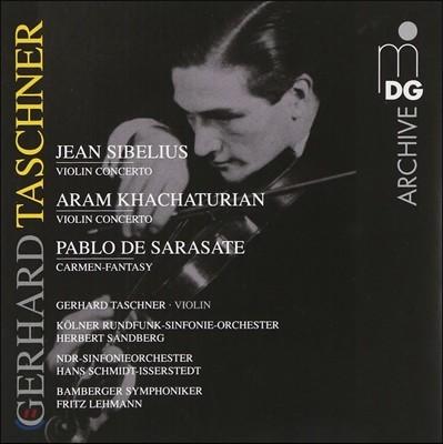 Gerhard Taschner 게르하르트 타슈너 - 시벨리우스 / 하차투리안: 바이올린 협주곡 (Sibelius / Khachaturian: Violin Concerto)
